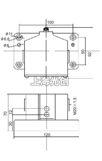lxz1-02l/c行程开关的接线图