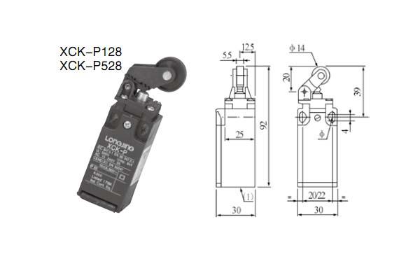 微动开关和延时器的接线图