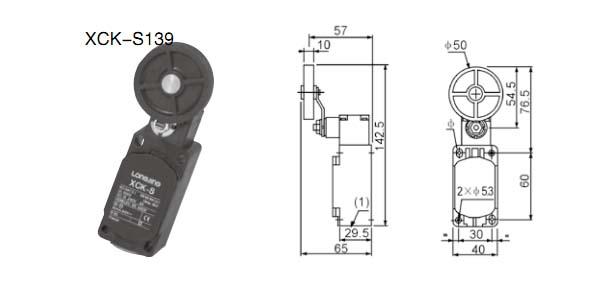 xck-s139行程开关的接线图